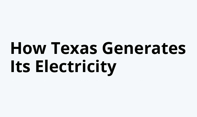 Electricity generation in Texas