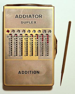 Calculadores de butxaca de fa 100 anys