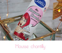 mousse chantilly Labell
