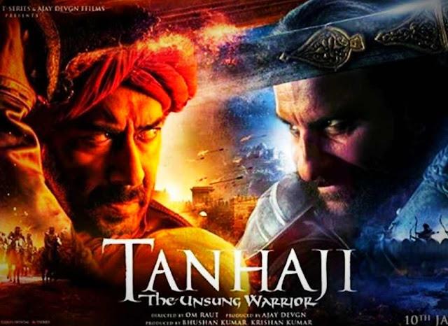 Tanhaji Full Film Download Leaked Online by TamilRockers