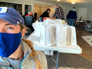 Lydia Smeltz volunteers with Raleigh, N.C., Lodge No. 735No.