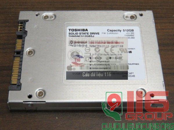 Hoạt động của ổ cứng SSD