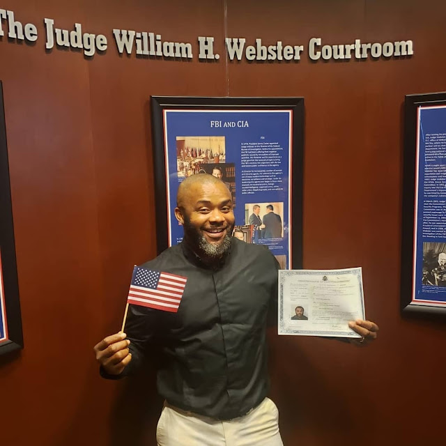 Nollywood Actor, Johnpaul Nwadike Becomes US Citizen (Photos, Video)