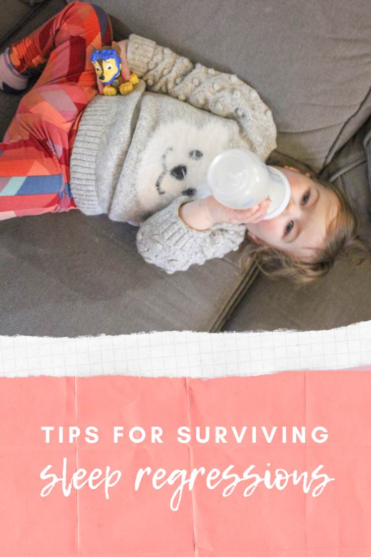Tips for Surviving a Sleep Regression