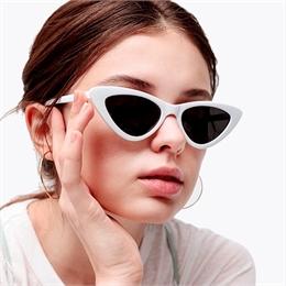 Óculos de Sol Retrô White