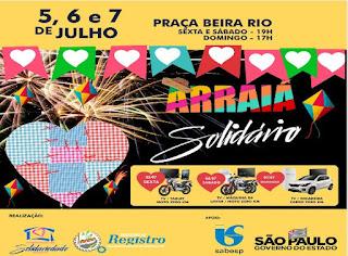 Registro-SP promove sua tradicional Festa da Solidariedade