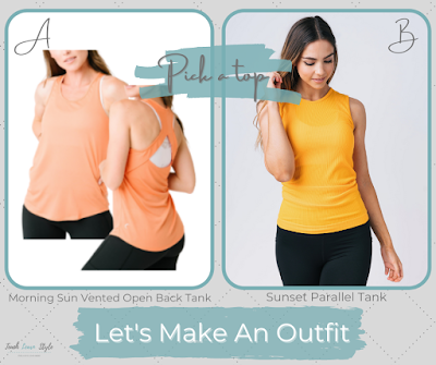 zyia tanks, zyia outfit inspiration, outfit guide, outfit of the day, outfit of the week, zyia outfit, zyia coordinates