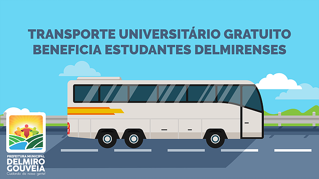 Transporte universitário gratuito beneficia estudantes delmirenses