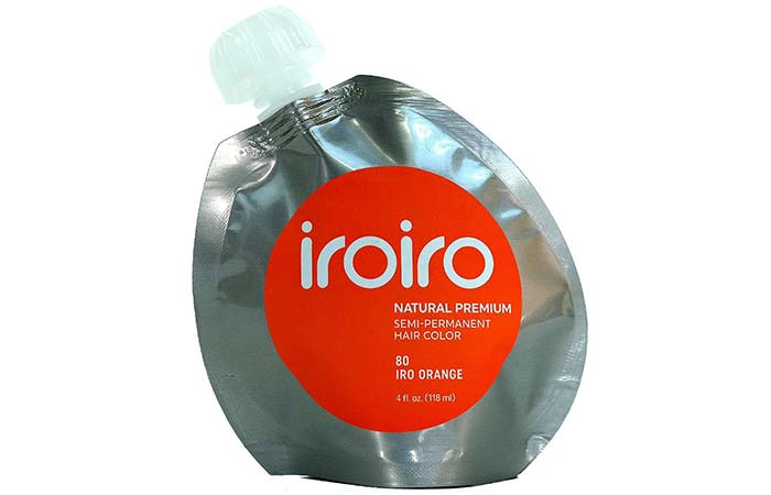 Semi Permanent Hair Color - Iroiro Premium Natural Semi Permanent Hair Color