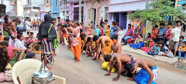 Danda-Nata at Taratarini Temple