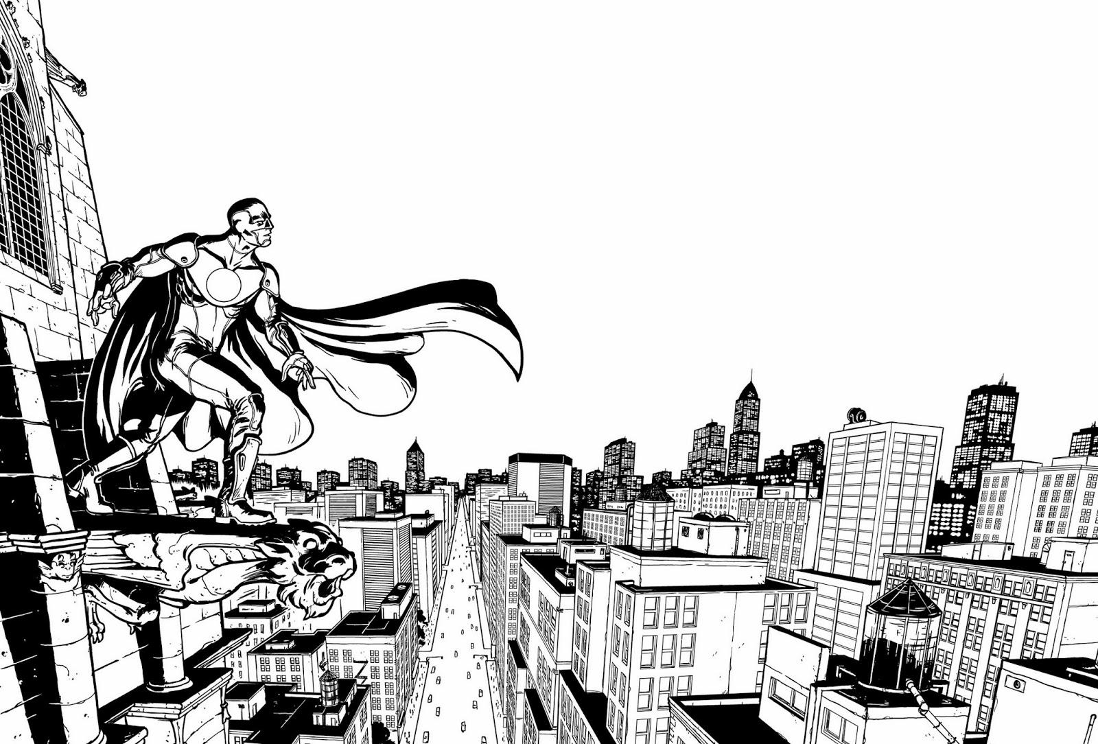 Ullcer Dessinateur Bd Illustrateur Super Heros Du Hasard