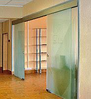 An Elegant Glass Door
