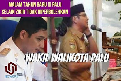 Wakil Walikota Palu Pasha Ungu: Malam Tahun Baru, Selain Zikir Tidak Diperbolehkan!