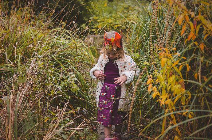 Little Green Radicals, Autumn leaf crowns