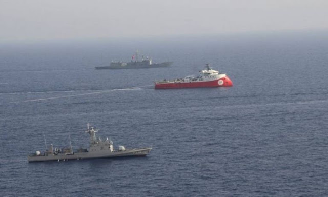 Φτιάχνει κλίμα έντασης ο τουρκικός Τύπος για το τέταρτο πλοίο