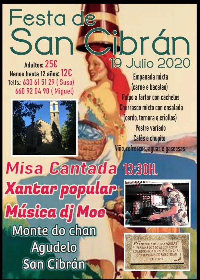 Romería de San Cibrán en Agudelo o 19 de Xullo