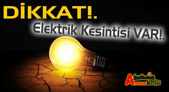 Anamur elektrik kesintisi, Anamur, Anamur Haber, Anamur Son Dakika,