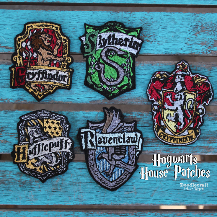 Harry Potter Upcycle Backpack Patch Dumbledore/'s Army Embroidery
