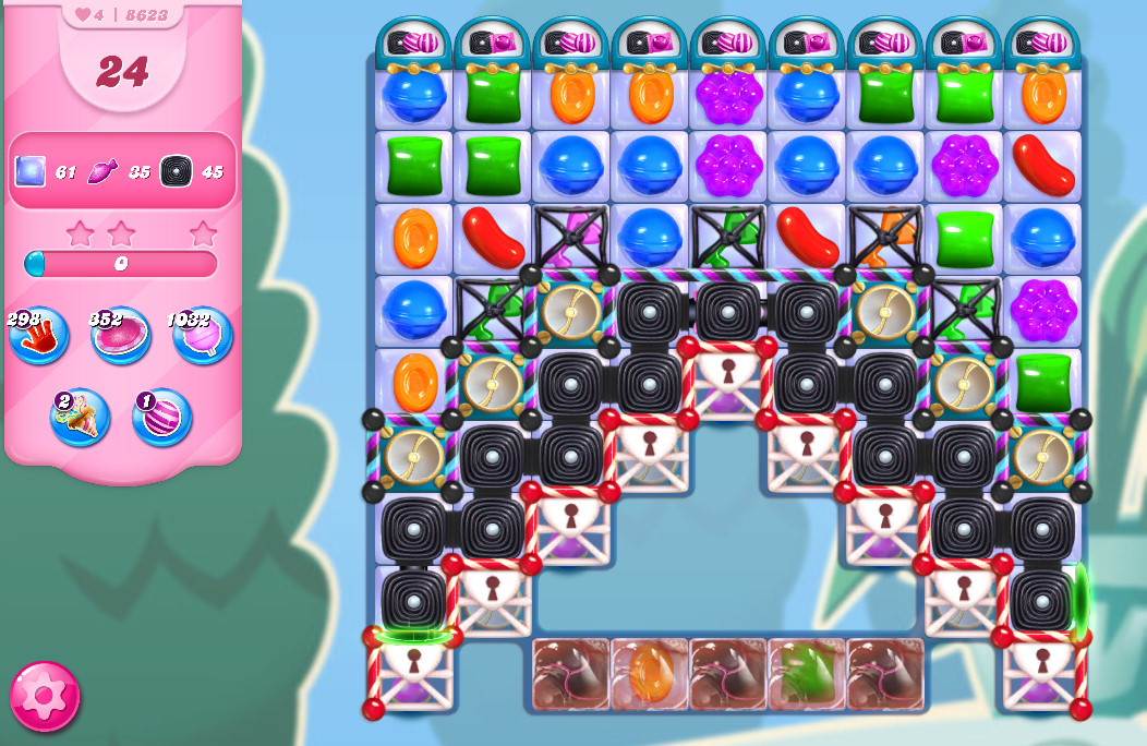 Candy Crush Saga level 8623