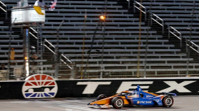 IndyCar flagman pink-slipped once on-line criticism of NASCAR policies addressing social justice