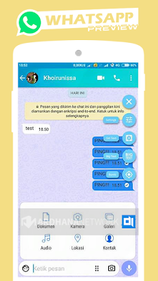 Mi-Whatsapp Blue V2.19.75 By Azhar Rivaldi