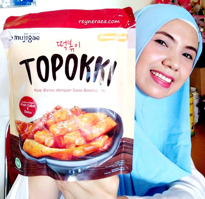 Review Toppoki Mujigae