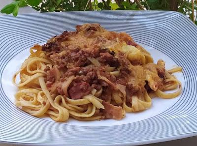 Μακαρονάδα φούρνου με κιμά