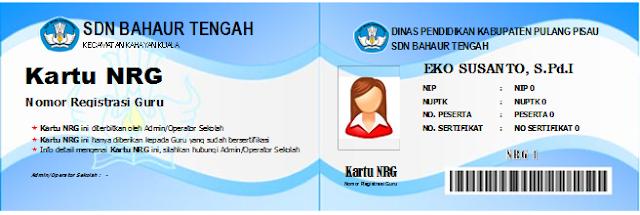 Aplikasi Cetak Kartu NRG