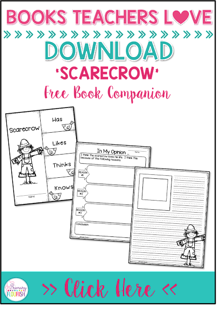 Use this book companion to help your students analyze, reflect, and write an opinion about 'Scarecrow' by Cynthia Rylant.