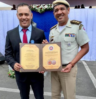 Prefeito de Itaetê e Polícia Militar
