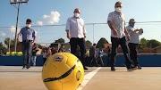 Deputado federal Hildo Rocha inaugura ginásio poliesportivo em Estreito