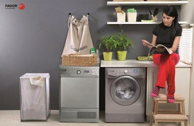 máy giặt lồng ngang