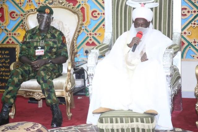 BANDITRY/INSECURITY IN NIGERIA: EMIR OF DAURA APPLAUDS NIGERIAN ARMY, OTHER SECURITY AGENCIES