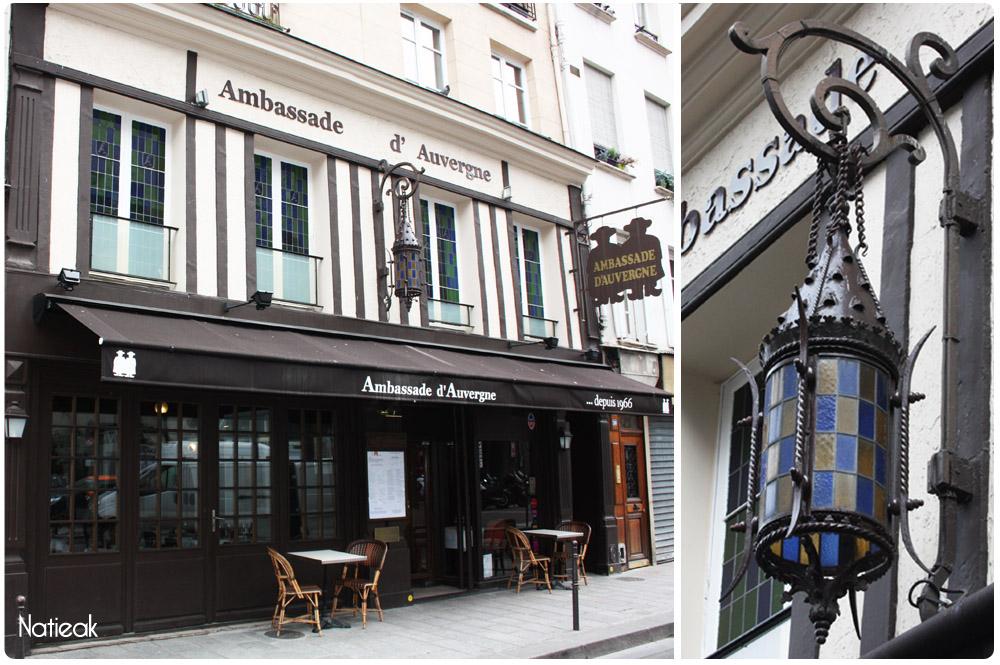 Ambassade d'Auvergne,restaurant,Paris