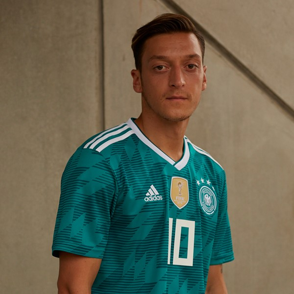 The Germany away kit for the 2018 World Cup introduces a retro-infused look  in  EQT Green . With this move Adidas brings back the easily most  recognizable ... 1cf624101