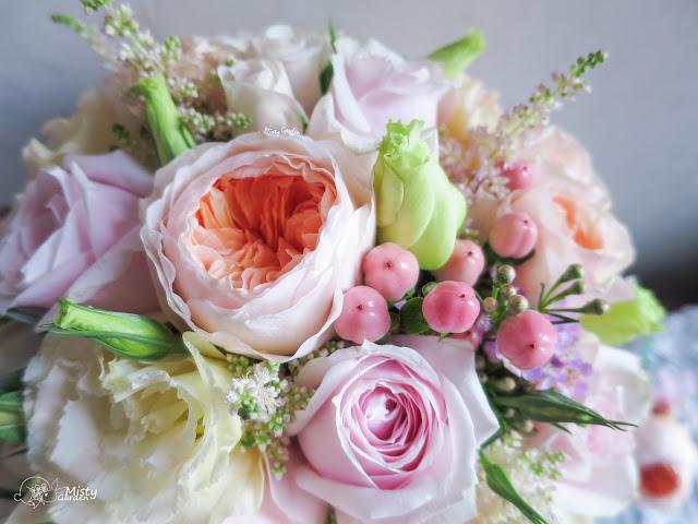 庭園玫瑰新娘花球 Juliet