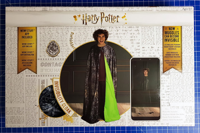 Wow! Stuff Harry Potter Invisibility Cloak Review box shot