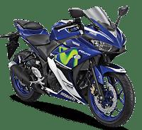 Harga Promo Cash dan Kredit Motor Yamaha R25 GP Movistar