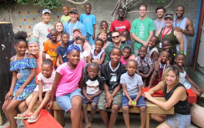 Children's Hope Solidarity Team at MABE Orphanage -- Gressier, Haiti
