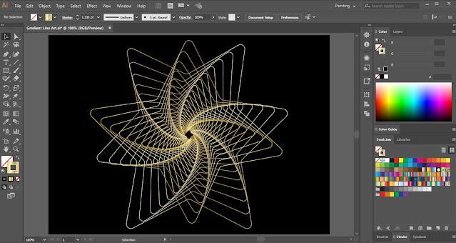 Line Art in Adobe Illustrator