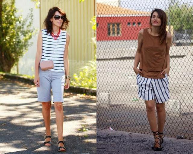 Модные шорты для тех, кому за 40 1-1