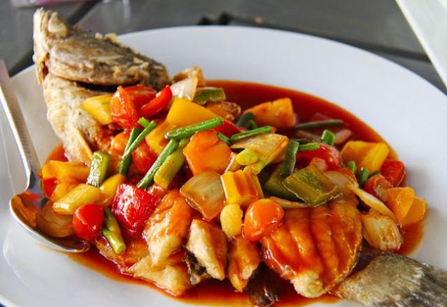 Resep ikan nila asam manis
