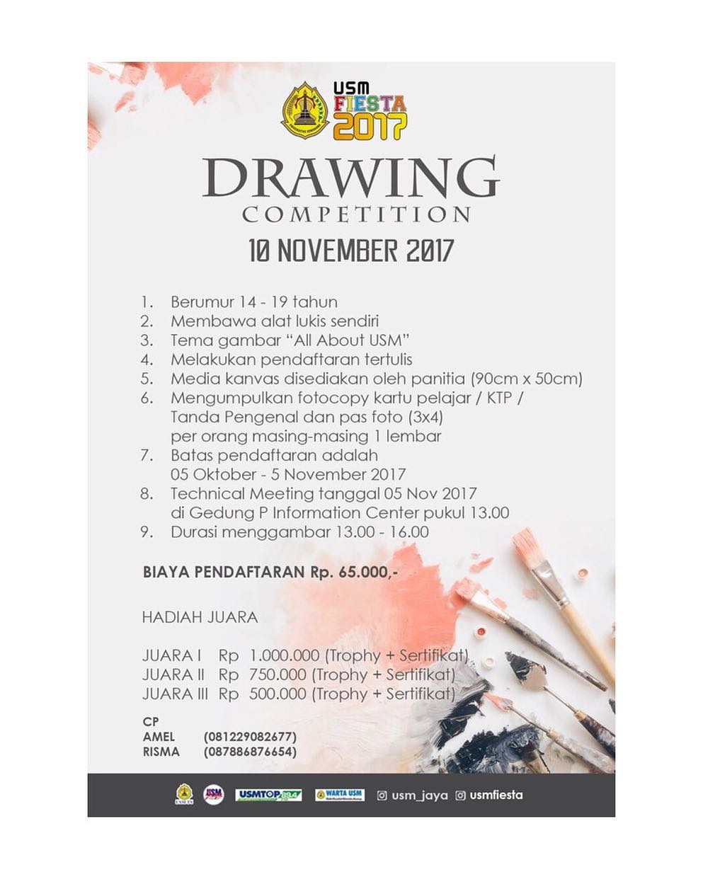 Drawing Competition 2017 Tingkat SMP-SMA