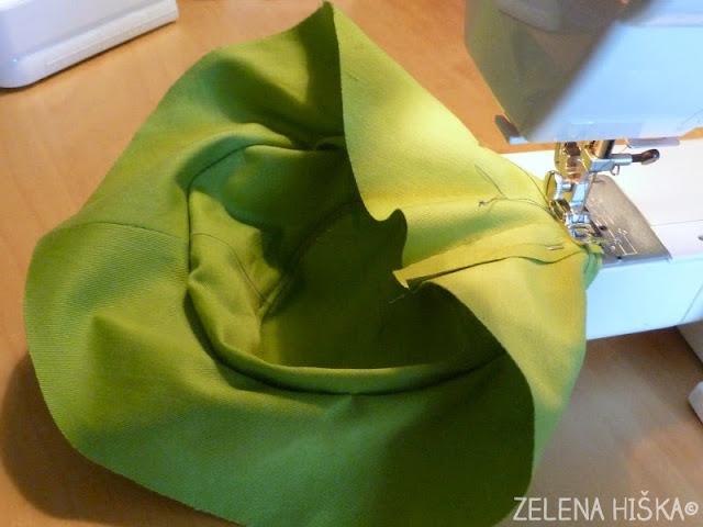 sešij sama - kroj in navodila za klobuk