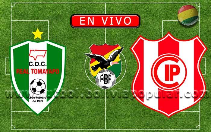 Real Tomayapo vs. Independiente Petrolero