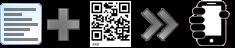 Generador de QR para crear un SMS y enviarlo a un teléfono