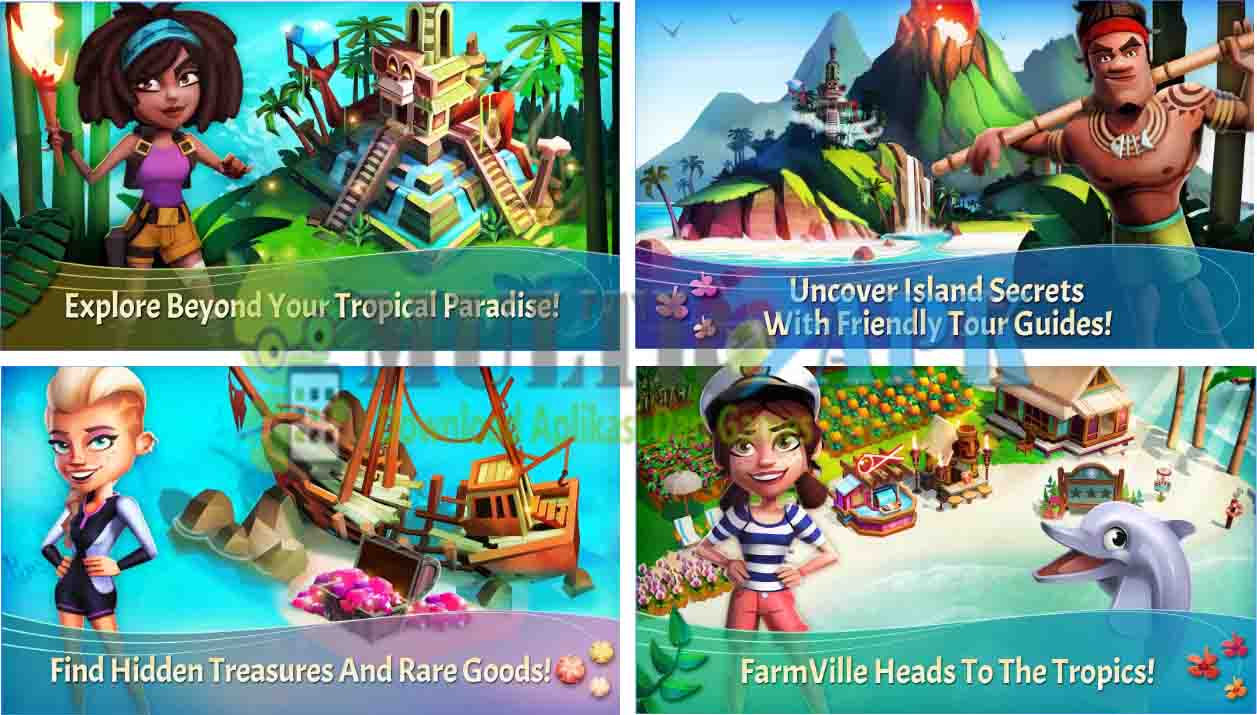 FarmVille: Tropic Escape Apk Mod v1.9.763 (Mod Infinite Gems)