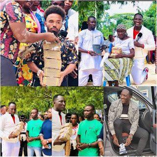"""NEWS: """"Go and Marry"""" -The Billionaire Prophet, Jeremiah Fufeyin of CMDM tells couples as he supports them with over 3 Million Naira [Watch Video]"""