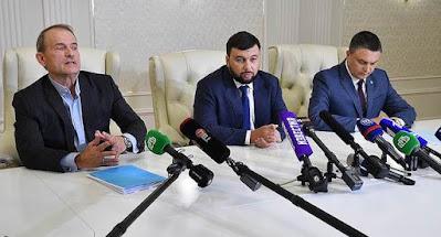 СМИ распространили аудиозапись разговора Медведчука и Пушилина