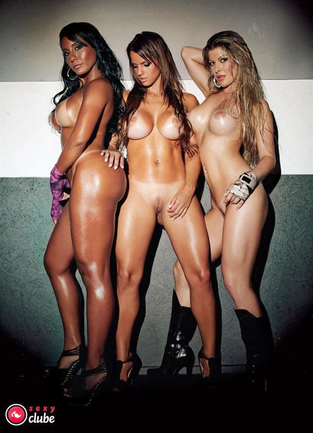 Hot brazilian girl group sex gangbang action